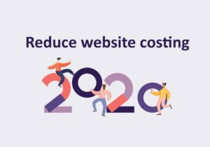 reduce website costing 2020