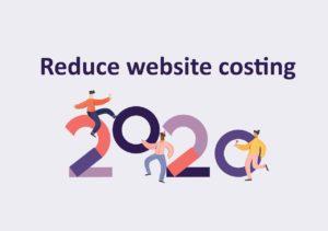 reduce website costing 2020
